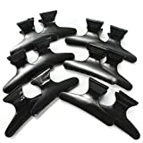 (Ship From Usa) 12 Pcs Hairdressers Hairdressing Butterfly Hair Claw Salon Section Clip Clamps Us *Jfo468 Uh12883