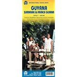 Guyana/Suriname & French Guiana 1:850 000 (International Travel Maps)