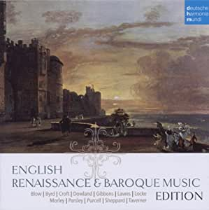English Renaissance And Baroque Music Edition
