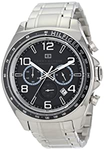 Tommy Hilfiger Men's 1790939 Sport Luxury Chronograph and Stainless Steel Bracelet Watch
