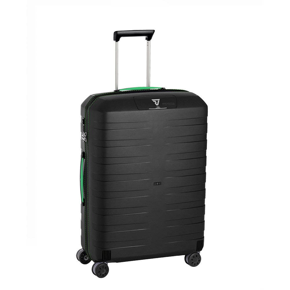 Roncato Box 4-Rollen Trolley 69 cm grün schwarz jetzt kaufen