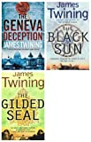 James Twining James Twining: Tom Kirk 3 book collection set. Pack includes: (The Gilded Seal / The Geneva Deception / The Black Sun rrp £20.97)
