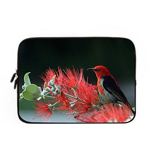 hugpillows-laptop-sleeve-bag-scarlet-honeyeater-bird-art-notebook-sleeve-cases-with-zipper-for-macbo