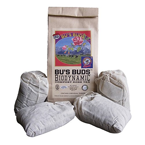Malibu Compost Bus Buds Biodynamic Compost Rose Tea 4 Cou
