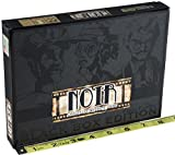 NOIR Black Box Edition Deductive Mystery Game _Bonus Gold Cloth 6 x 10 Inch Drawstring Storage Pouch _ Bundle