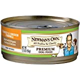 Newman's Own Turkey & Chicken Formula for Puppies & Active Dogs, 5.5-Ounce Cans (Pack of 24)