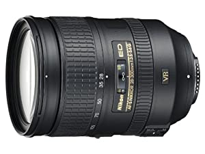 Nikon 28-300mm f/3.5-5.6G ED VR II AF-S Nikkor Zoom Lens for Nikon Digital SLR