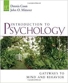 psychology and coon Find introduction to psychology by coon, dennis/ mitterer, john o at biblio uncommonly good collectible and rare books from uncommonly good booksellers.