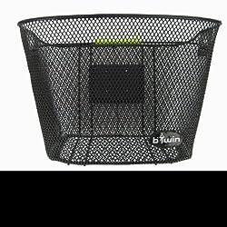 Btwin Front-Basket Bag and Rack, Senior