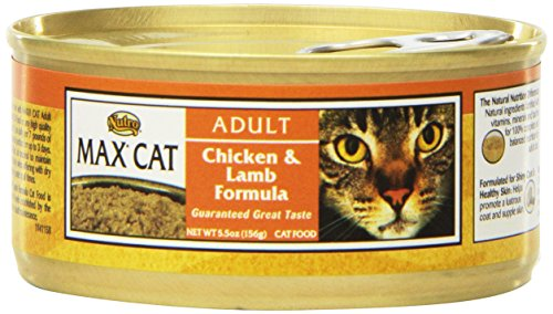 Nutro MAX CAT Adult Chicken & Lamb Formula