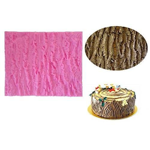 Fondant Impression Mat Tree Bark Texture Design Silicone