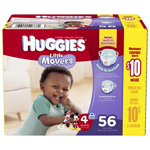 Huggies Diapers 56 CT (Pack of 2) - 1