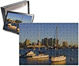 Photo Jigsaw Puzzle Of Yachts And San Diego Skyline, California, United States Of America, North