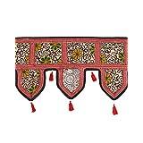Rajrang Designer Door Hanging Patchwork With Lace Rajasthani Toran - B00O0QJVDM