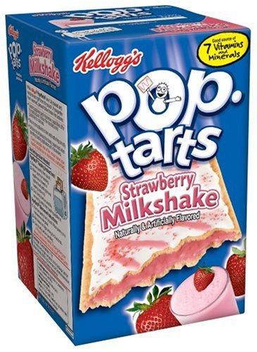 Buy Kellogg's Pop-Tarts Frosted Strawberry Milkshake, 14.1-Ounce, 8-Count Boxes (Pack of 12) (Pop-Tarts, Health & Personal Care, Products, Food & Snacks, Breakfast Foods, Toaster Pastries)