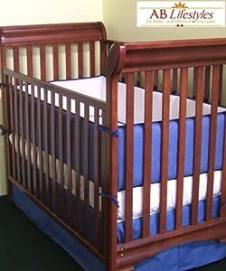 denim crib bedding set 3pcs including bumper