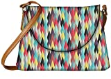 Snoogg Aztec Pattern Digital Ray Womens Carry Around Sling Bags