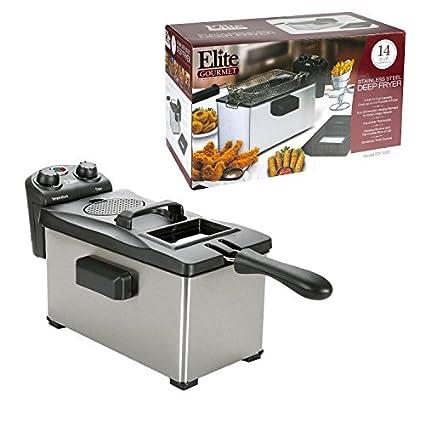 MaxiMatic EDF-3500 Elite Gourmet Quart Deep Fryer Image