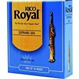 Royal by D'Addario RIB1025 Soprano Sax Reeds, Strength 2.5, 10-pack