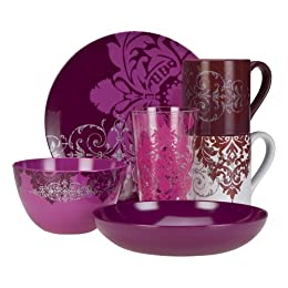 Product Image Berry Damask Dining Collection