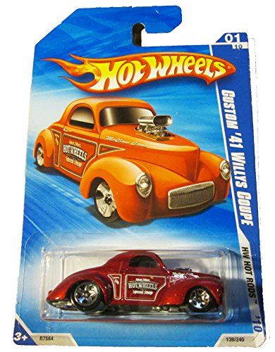 Hot Wheels - 2010 HW Hot Rods - 139/240 - Custom '41 Willys Coupe - 1