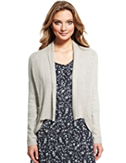 Indigo Collection Military Cardigan with Angora