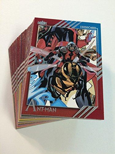 2015 Fleer Marvel Retro 60-card Base Set (2015 Marvel Cards compare prices)