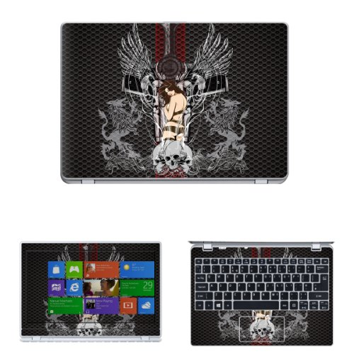 Decalrus - Matte Decal Skin Sticker for Acer Aspire V5-122