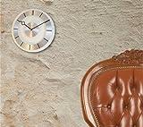 Nextime - Retro Wall Clock - 31 Diameter - Metal - Glass