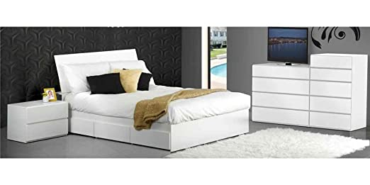 Three Drawers Modern Bedroom Set