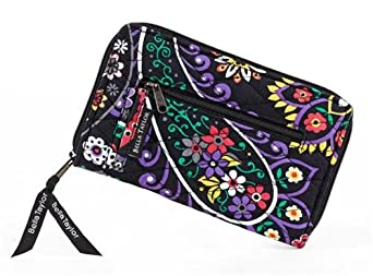 Bella Taylor Carnevale Quilted Cotton Wrist Strap Wallet