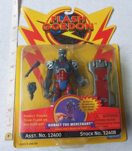 Flash Gordon - Kobalt the Mercenary Action Figure - 1