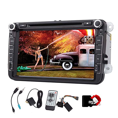 Autoradio per il VW Volkswagen Jetta Passat GPS Matrimoniale 2 DIN 8 pollici Win 8 lettore DVD / Bluetooth / DVD / USB / AUX / DI BASE CON BLUETOOTH auto Ricevitore In Dash Navigation