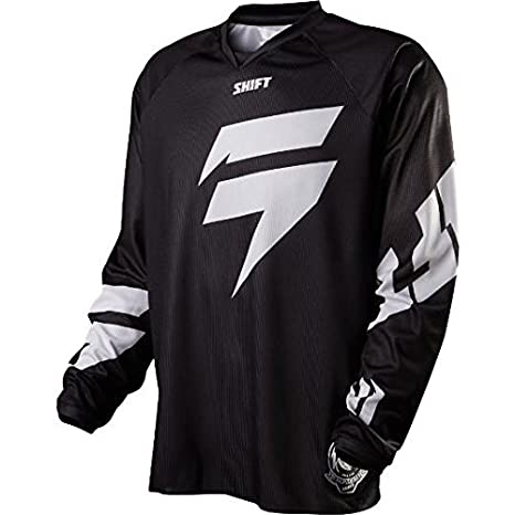 Maillot Motocross Shift 2015 Recon Logo Noir