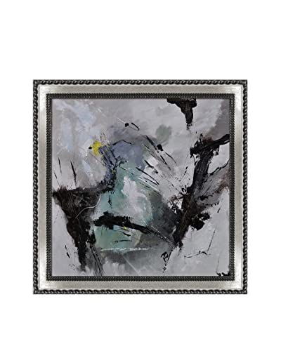 Pol Ledent Abstract 7741111 Framed Reproduction Print on Canvas