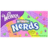 Nestle Wonka Candy Video Box, Nerds Rainbow, 5 Ounce (Pack of 12)