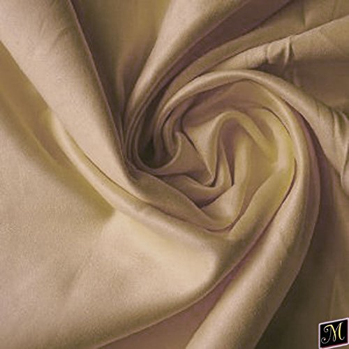 """58"""" Wide Suede Fabric Parchment Fabric By The Yard"""