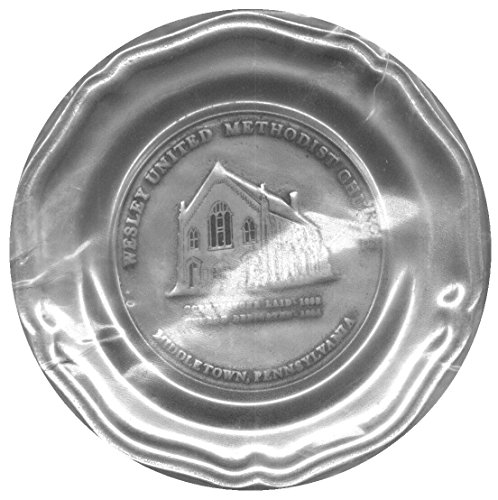 Armetale Wesley United Methodist Church, Middletown, Pennsylvania Commemorative Collectible Plate