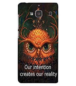 ColourCraft Image with Quote Design Back Case Cover for XIAOMI REDMI 2S