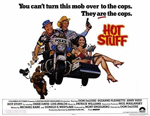 Hot Stuff POSTER Movie (1979) Style A 11 x 14 Inches - 28cm x 36cm (Dom DeLuise)(Jerry Reed)(Suzanne Pleshette)(Ossie Davis) (Dom Deluise Hot Stuff compare prices)