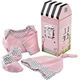 Baby Aspen Welcome Home Baby 3-Piece Layette Gift Set, Pink, 0-6 Months