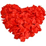Heart Shaped Red Rose Petals (200 Pc)