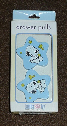 Lambs & Ivy Drawer Pulls - Snoopy & Woodstock