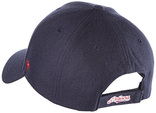 47-Brand-MVP08-Adjustable-Cap-CLEVELAND-INDIANS-Dunkelblau