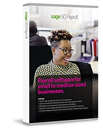 Sage 50 Payroll 15 Employees 12 Month Plan (PC)