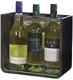 EVENT COOLER VARIO 03, stromloser Weinkühler, Flaschenkühler – schwarz