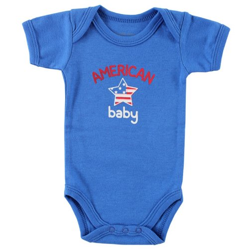Patriotic Baby Clothes front-345456