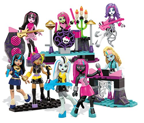 Mega Bloks Monster High Glam Ghoul Band Building Kit (Monster High Super Ghouls compare prices)