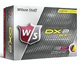 Wilson 2014 DX2 Soft Golf Balls Yellow