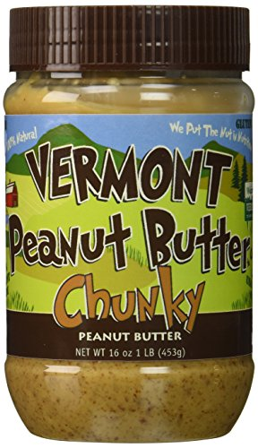 Vermont Peanut Butter - Delicious Homemade - Chunky
